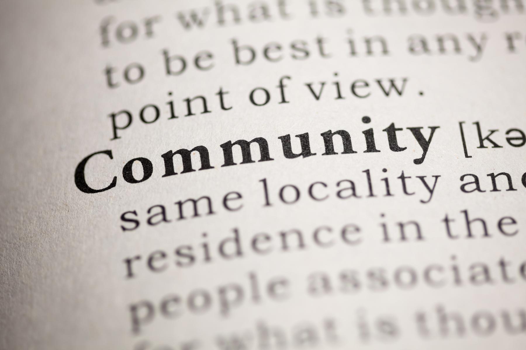 June - Month of Community