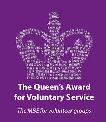 The Queen's Award presentation